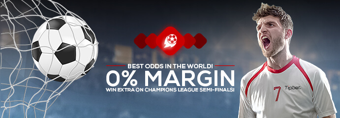 Boosted odds with 0% margin on European football at Tipbet - Tipbet Blog